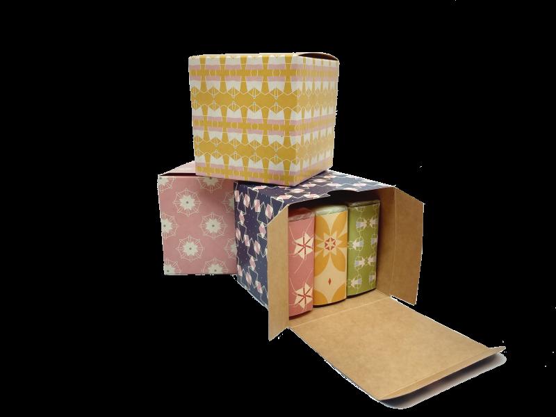 Geschenkbox 3 Seifen