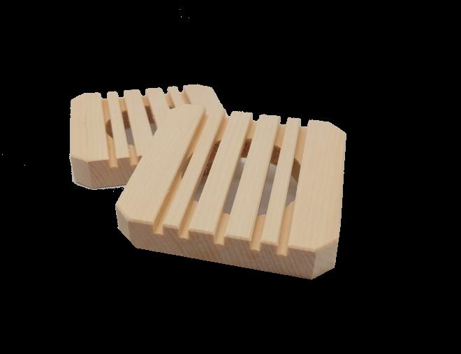 Seifenteller aus Zirbenholz