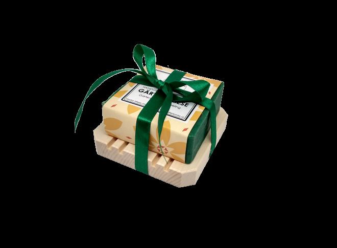 Geschenkset Seife + Seifenteller