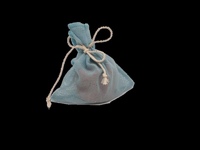 Dusch- Säckchen für Seifen und Shampoos